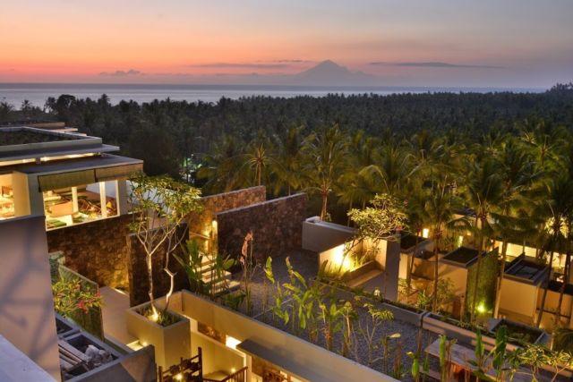 Konsep bangunan dan resort terbaik di Senggigi, Lombok.
