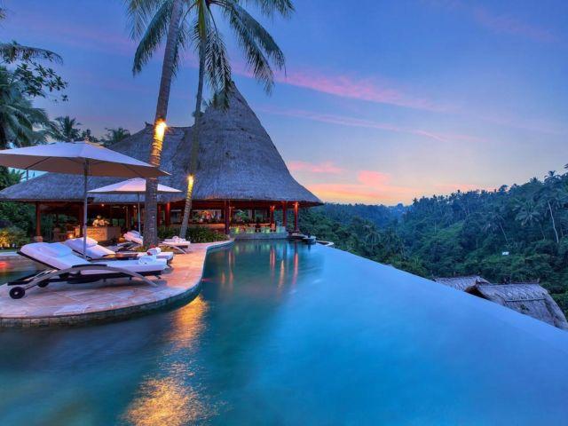 Senja yang sangat indah dari Viceroy, Bali.