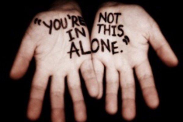 Kamu tak sendirian