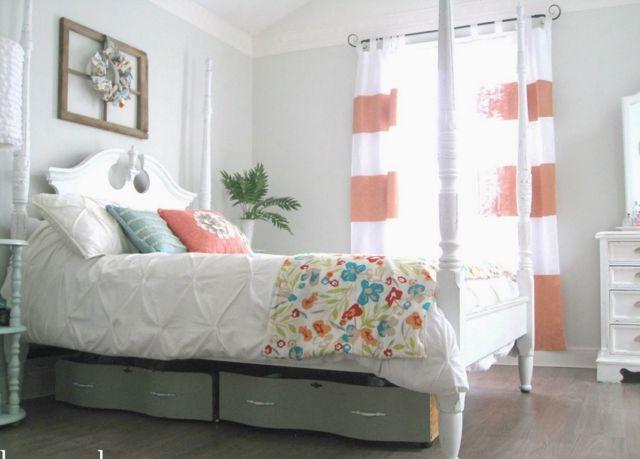 Bikin laci di kolong tempat tidur..Kreatif!!!