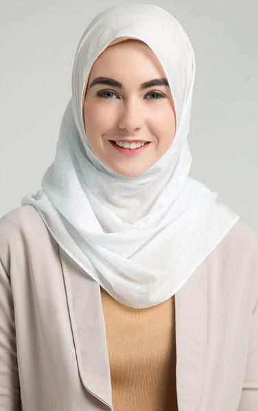 trend coontoh hijab modern simple