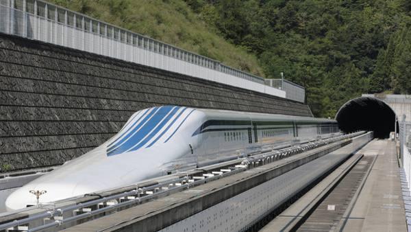 Kereta Tercepat Japan Maglev