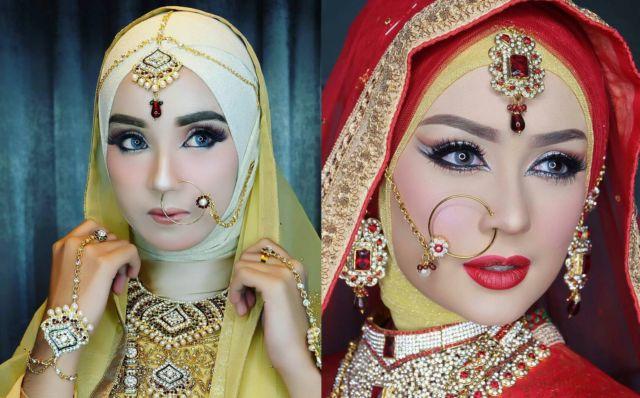 12 Inspirasi Perhiasan Melingkar di Kepala untuk Pengantin ...
