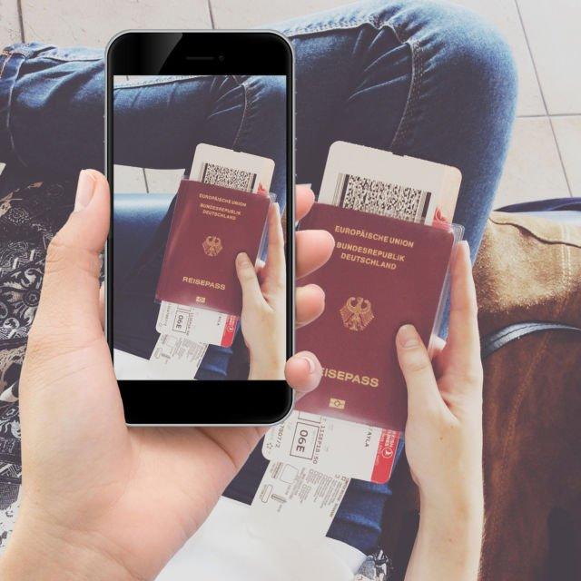 pantang foto tiket pesawat