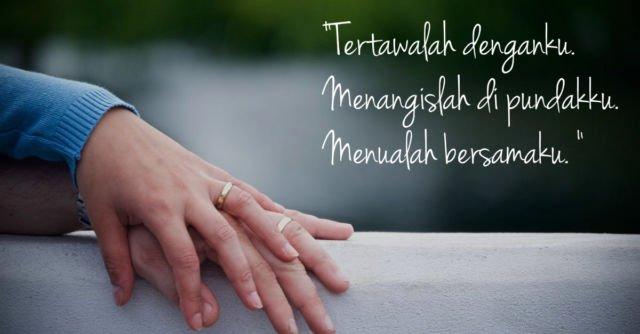 Kata Kata Romantis Buat Pacar Genggaman Tangan