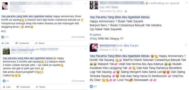 Heboh Abg Ini Ngucapin Anniversary Ke Cowoknya Pas 7 Hari