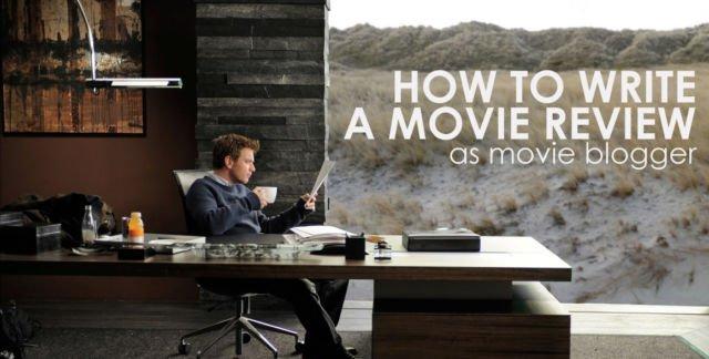 Cara menulis ulasan film