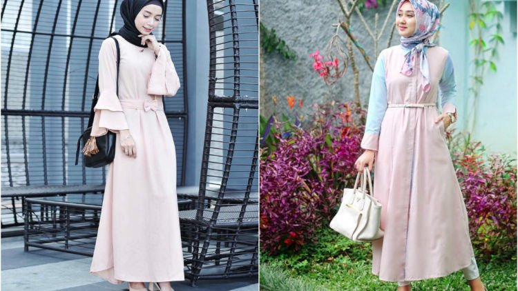 10 Maxi Dress Cantik Buat Cewek Berhijab Adem Dan Feminin Banget