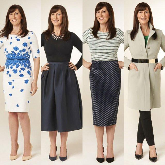 Rectangle Shape dalam Berbagai Jenis Pakaian