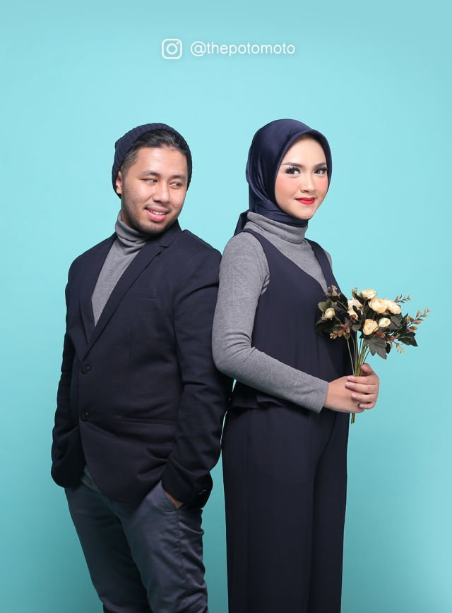 5 Foto Prewedding Hijab Simple Tapi Super Kece