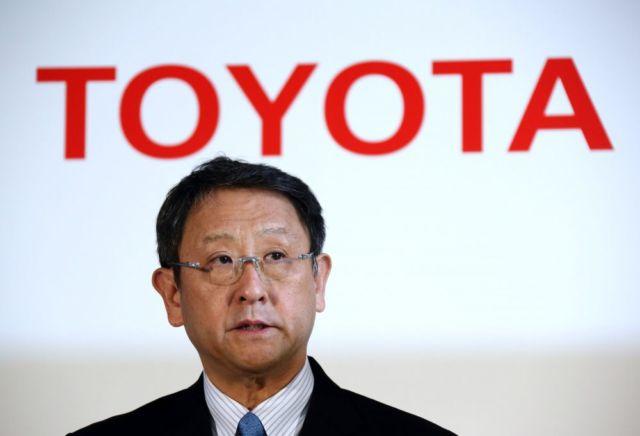 Akio Toyoda, CEO Toyota