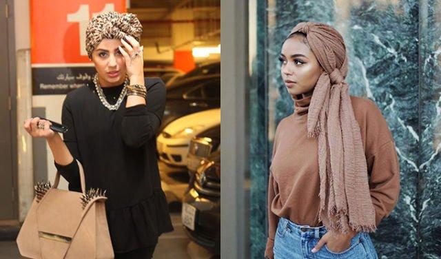 Jilbab turban