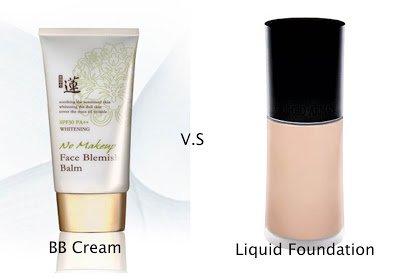 BB cream VS Foundation