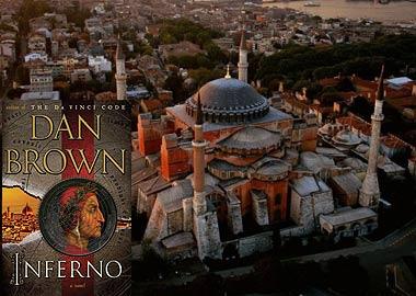 Hagia Sophia in Dan Brown's Inferno