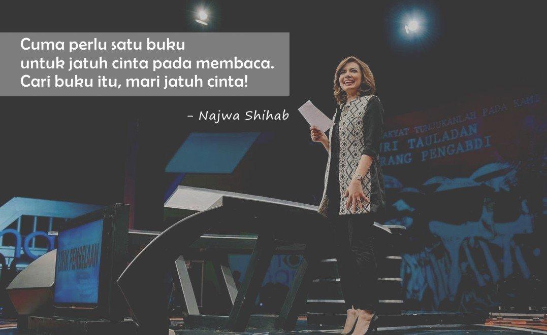 Kata Bijak Najwa Shihab Cinta