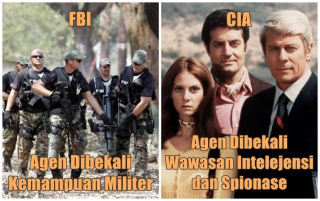 Meski Sama-sama Keren, Tapi FBI & CIA Itu Beda Banget  Yang Suka