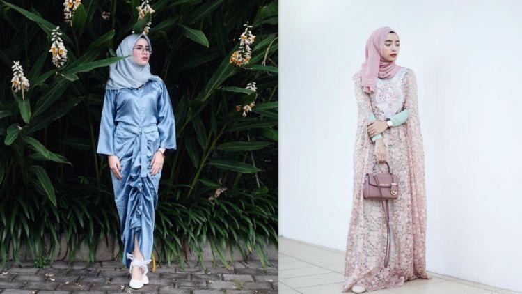 Inspirasi Gaun Muslimah Elegan Untuk Kondangan A La Selebgram Minim Glamor Tapi Menawan