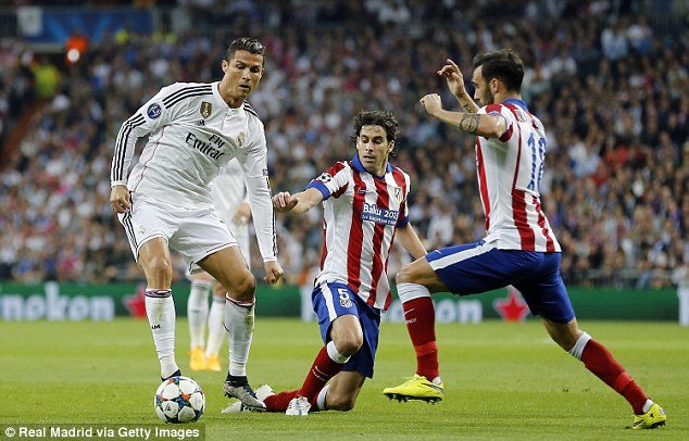 Lompatan tinggi Ronaldo