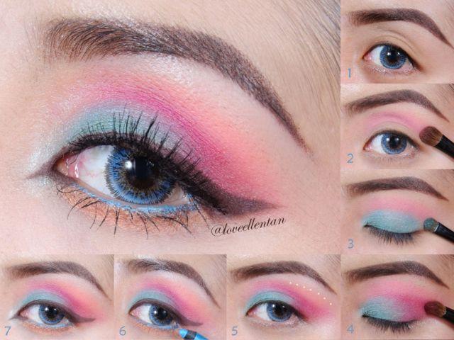 Eyeshadow cerah ceria