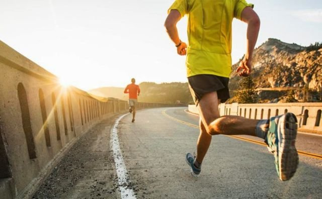 jogging sore