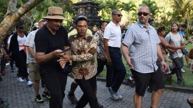 Obama di Bali