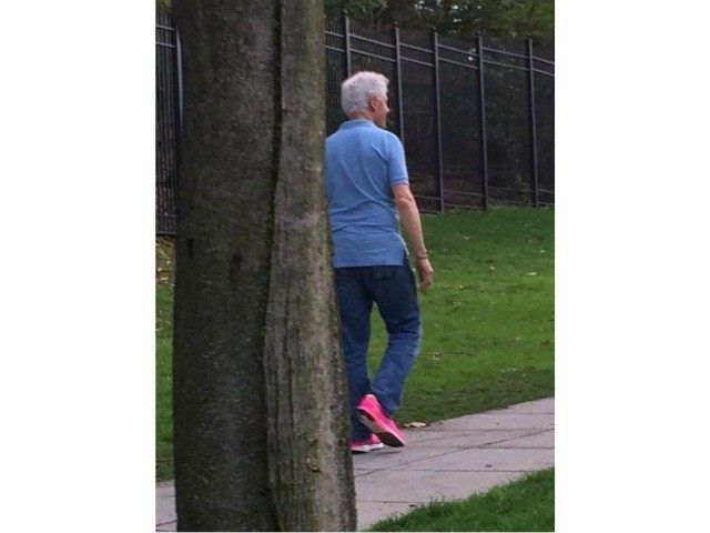 Clinton Jogging