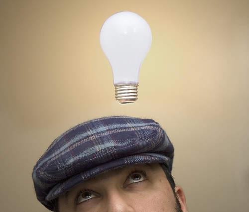Ide dan Gagasan bisa tiba-tiba muncul