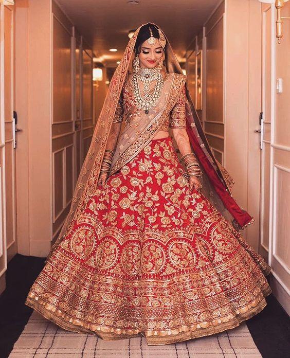 17 Inspirasi Gaun Pengantin A La Bollywood Untuk Pernikahanmu Nanti