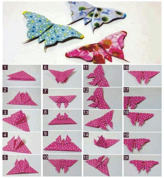 Aneka Kreasi Origami Ini Gampang Dan Bagus Buat Hiasan Kamar