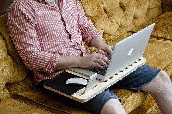 Sering memangku laptop dan menggunakan hp