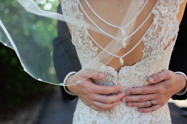 woman-wearing-beige-bridal-gown-during-day-time