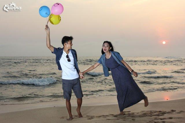 Bersama di Pantai