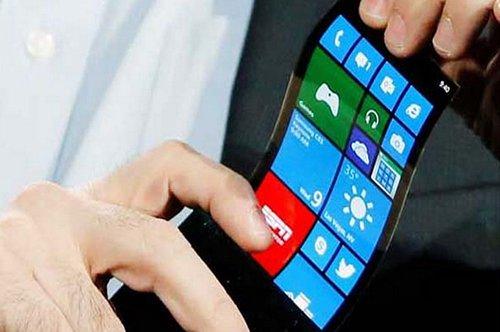 Smartphone Layar Fleksibel