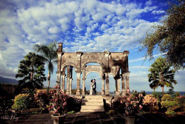 Taman Ujung di ujung timur pulau Bali