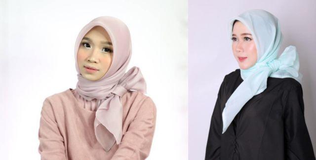 Tutorial Hijab Ikat Pita Leiner Fashion