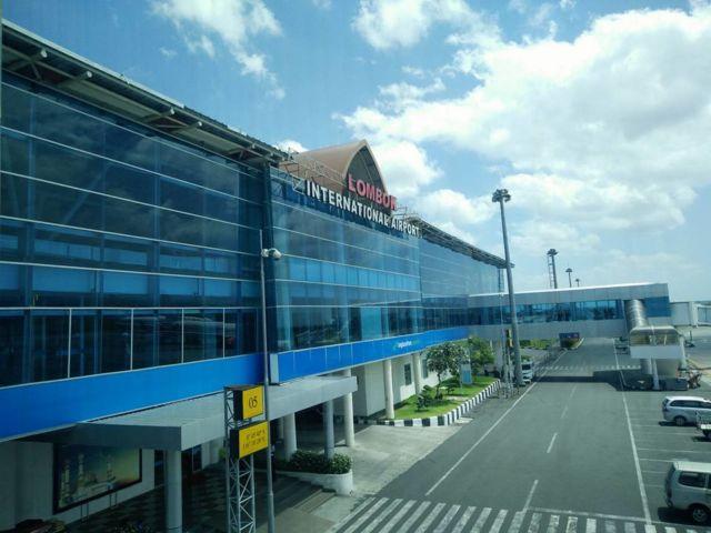 Kedatangan dari Airport Lombok