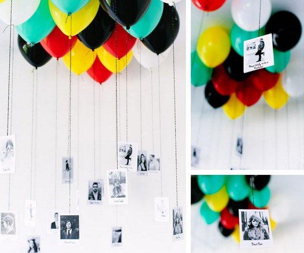 Balon penuh foto kenangan