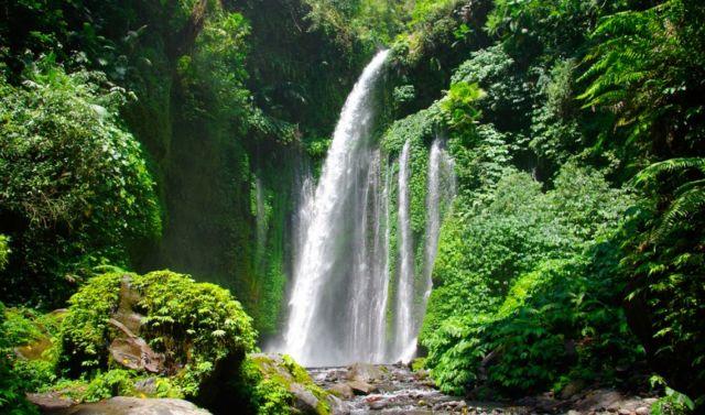 Tiu Kelep - Wisata Lombok