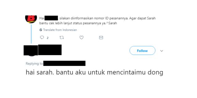 To the point banget sih, Masnya...