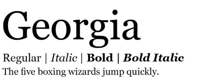 7 jenis font ini ampuh membuat lamaran kerjamu makin