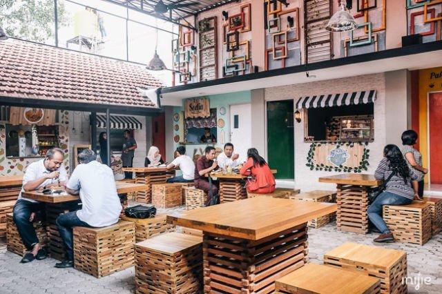 Perut Kenyang Dan Stok Foto Banyak 5 Tempat Makan Hits Di