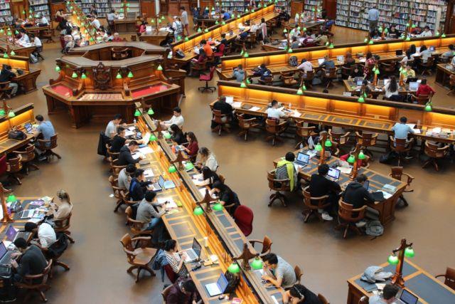 Kondisi di Perpustakaan