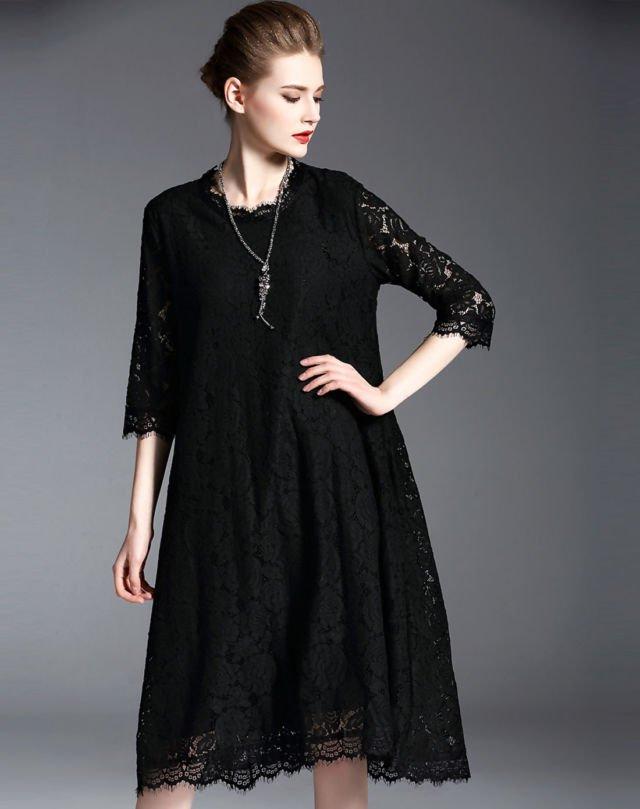 12 Inspirasi Loose Midi Dress Untuk Acara Formal Yang Satu Ini