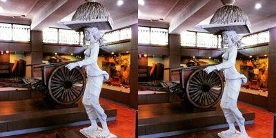 Slah satu koleksi museum subak