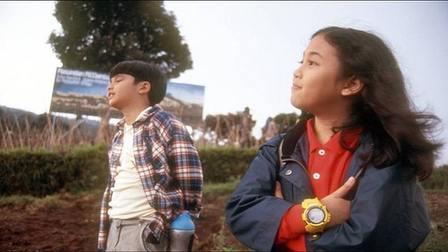 Sherina Munaf dan Derby Romero dalam film Petualangan Sherina.