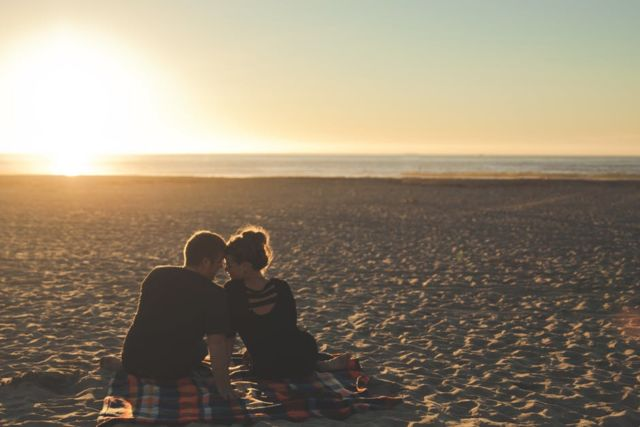 sunset-beach-couple-love