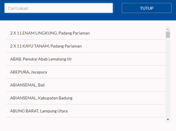 pilihan rute pengiriman barang