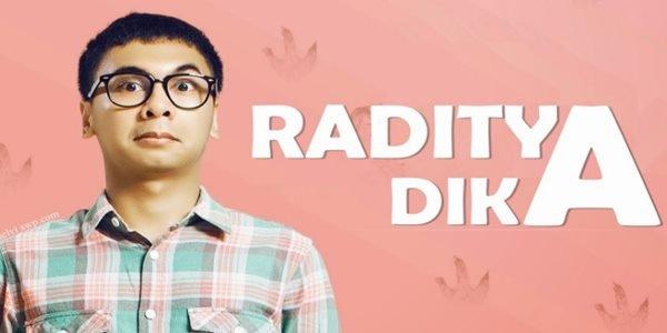 Raditya Dika, blogger yang sukses menjadi arits terkenal