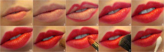 Uji coba warna lipstick pilihanmu