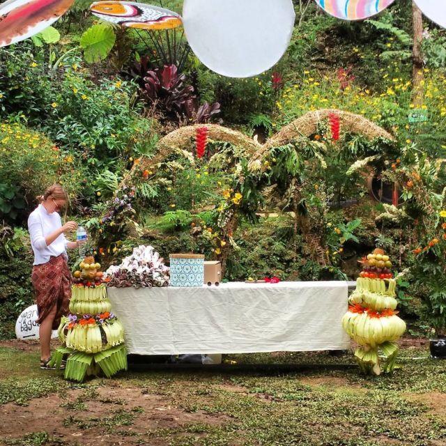 resepsi pernikahan di Taman Sungai Mudal